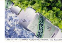 5313 CPA PUBLICITAIRE - LA MENTHE - PASTILLE -  Giffard CM - Publicité