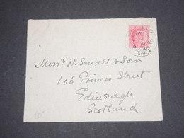 INDE - Enveloppe Pour Édimbourg  En 1910 - L 13120 - 1902-11 King Edward VII