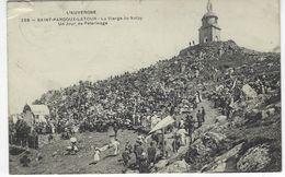 CPA 63 ( Puy De Dome ) - SAINT PARDOUX LA TOUR - La Vierge De Natzy - Un Jour De Pelerinage ( AUVERGNE ) - France