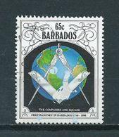 1991 Barbados Freemasonry Used/gebruikt/oblitere - Barbados (1966-...)