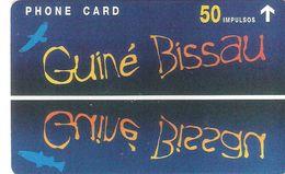 """GUINEA-BISSAU - Guine Bissau - Guine Telecom - """" Fauna Expo 98 """" 803L - 50 Impulsos - GB1 -- Mint -  Nuevo/UNC-- - Guinée-Bissau"""