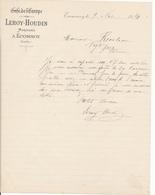 F72 - ECOMMOY , SARTHE, 1914 - Leroy-Houdin, Marchand - France