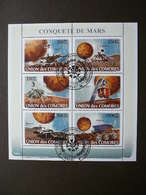 Mars Space. Raumfahrt. Espace # Comoros # 2008 Used S/s # - Space