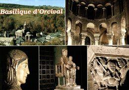 63 BASILIQUE ROMANE D'ORCIVAL MULTI-VUES - France