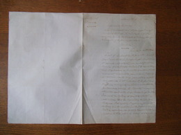 6  7bre 1860 COURRIER LE JUGE DE PAIX EVRARE AU MAIRE CIRCULAIRE DU 17 AOUT 1860 - Manuscripts