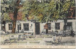 AK Gruß Vom Cafehaus Görden 1913 Brandenburg Waldcafe - Brandenburg