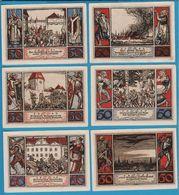 STADT ARNSTADT 6 X 50 PFENNIG 1921 #43.3a  NOTGELD - [11] Local Banknote Issues