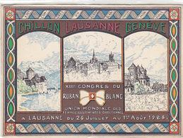 Lausanne - Congès Du Ruban Blanc - 1928    (P-111-50312/80106) - VD Vaud
