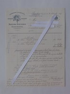 BARCELONA: Facture 1907 Exportation Vin PORTO LAGRIMAS Et MALAGA MADERE - SCHNEIDER - Fournisseur Du Roi D'Espagne - Espagne