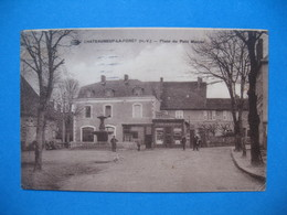 CPA   1941  Châteauneuf-La-Forêt Place Du Petit Marché - France