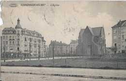 Bruxelles - Schaerbeek Helmet - L'Eglise - Circulé En 1913 - Défaut Coin Supérieur Gauche - Schaerbeek - Schaarbeek