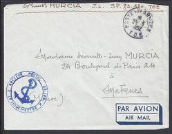 FR - Enveloppe Du S.P 82.180 En F.M. Cachet Poste Aux Armées T.O.E. 29-09-1952 Pour Meknès Maroc - B/TB - - Marcophilie (Lettres)