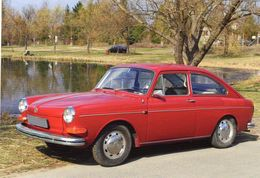 Volkswagen Typ 3  (1970)    -  CPM - Voitures De Tourisme