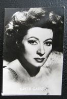 Greer Garson Alias Eileen Evelyn Garson (1904-1996) Photo Chromos Chewing Gum Actrice Spectacle Cinéma Vedette - Trade Cards