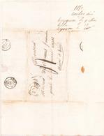 France Lettre Du 9 Mai 1850 De Treygnac Pour Angers - Marcophilie (Lettres)