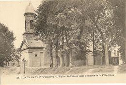 CONCARNEAU -  L'Eglise St-Guénolé Dans L'enceinte 49 - Concarneau