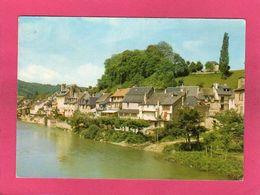 12 Aveyron, Saint-Geniez-d'Olt, Le Lot, Rive Droite, Vers Ste-Eulalie, 1975, (P. Artaud) - Autres Communes