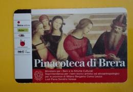 BIGLIETTO PINACOTECA DI BRERA TICKET INGRESSO OMAGGIO #001 - Toegangskaarten