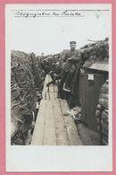 Belgique - SMISKE - BIKSCHOTE - Carte Photo - Foto - Schützengraben - Soldats Allemands - Guerre 14/18 - 3 Scans - Belgio
