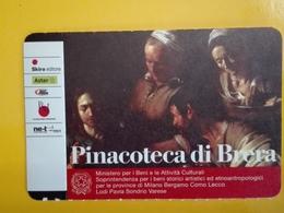 BIGLIETTO PINACOTECA DI BRERA TICKET INGRESSO OMAGGIO #002 - Toegangskaarten