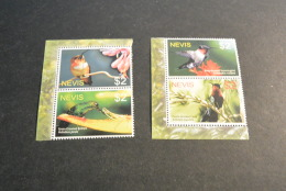 K14484- Set MNH Nevis 2005- Hummingbirds - Hummingbirds