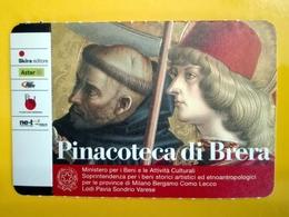 BIGLIETTO PINACOTECA DI BRERA TICKET INGRESSO OMAGGIO #003 - Tickets - Entradas