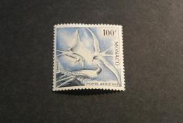 K14504- Stamp Mint Hinged Monaco 1955 - SC. C41- Sea Swallows - Sternes   100F - Birds