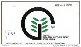 Télécarte Japon * COCA COLA  (1441) TELEFONKARTE * PHONECARD JAPAN *  COKE * - Publicidad