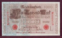 ALLEMAGNE - 1000 MARK - 21/04/1910 - [ 2] 1871-1918 : German Empire