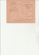 LETTRE POSTES, TELEGRAPHES ET TELEPHONES  AVEC CAD DEPOT CENTRAL DES REBUTS - 1936 - Telegramas Y Teléfonos