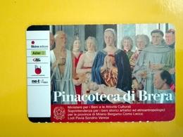 BIGLIETTO PINACOTECA DI BRERA TICKET INGRESSO OMAGGIO #004 - Toegangskaarten