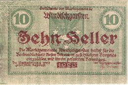 Österreich Austria Notgeld 10 FS1245IIc WINDISCHGARSTEN /231M/ - Oesterreich