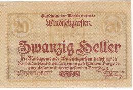 Österreich Austria Notgeld 20 FS1245IIa WINDISCHGARSTEN /231M/ - Oesterreich