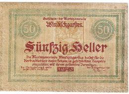 Österreich Austria Notgeld 50 FS1245IIa WINDISCHGARSTEN /231M/ - Oesterreich