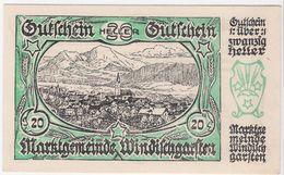 Österreich Austria Notgeld 20 FS1245IIIa WINDISCHGARSTEN /231M/ - Oesterreich