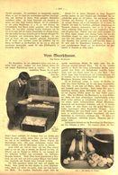 Vom Meerschaum. / Artikel, Entnommen Aus Zeitschrift / 1910 - Packages