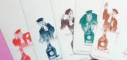 Pochette Ancienne 6 MENUS POUR DINERS DE FAMILLE Publicité La Bénédiictine AVOCAT - Alcohols