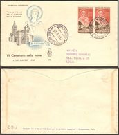 Fdc Venetia 1953 186  Santa Chiara D'Assisi As Roma - 6. 1946-.. Repubblica
