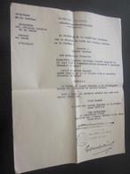 1889 Dactylo Certificat Acte Naturalisation Signé Carnot Président République-Garde Des Sceaux Ministre Justice Thevenet - Historical Documents