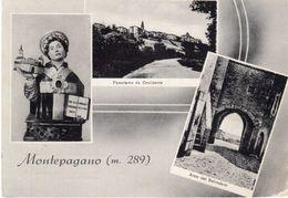 Teramo - Montepagano M. 289 - Vedutine - - Teramo