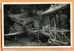 A409, Morgins, La Source, Animée, Circulée 1935 - VS Valais