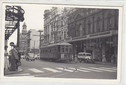 Perth - Tram In Center - Photo In Postcard Size      (180205) - Perth