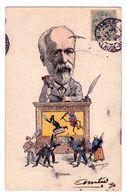 F106 - Caricature - Brisson - Guignol Parlementaire - - Satiriques