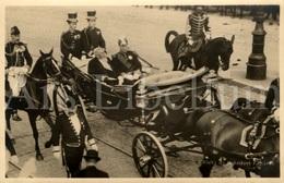 Postcard / ROYALTY / Belgique / Roi Albert I / Koning Albert I / Président Armand Fallières / France / Bruxelles 1911 - Politieke En Militaire Mannen