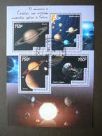 Saturn Space. Raumfahrt. Espace # Togo # 2014 Used S/s # - Space