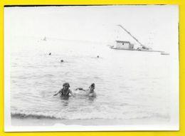 Arcachon Plage Des Abatilles 1937 Drague? Gironde (33) - Lieux