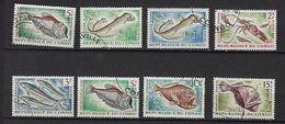 """Congo YT 142 à 147A """" Poissons Et Céphalopode """" 1961-64 Oblitéré - Afgestempeld"""