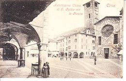 ITALIA - COMO - Piazza E Chiesa, Animata, 1900 Circa - 2018 - 312 - Como