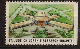 (DH-V) Vignette / Werbemarke: St. Jude Children's Research Hospital - Cinderellas