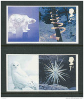 GRANDE-BRETAGNE - 2003 - Yvert  2502a/2503a - NEUFS ** Luxe MNH - 2 Valeurs - Noël, Scultures De Glace - 1952-.... (Elisabeth II.)